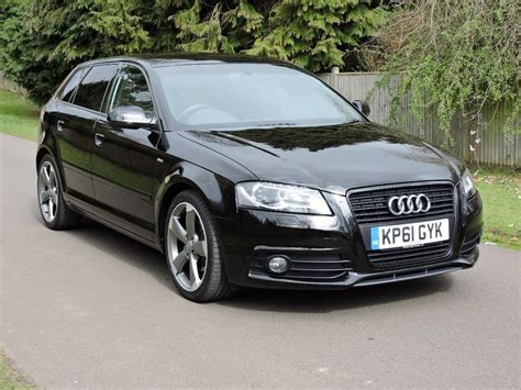 Audi A3 Black Edition by Used 2011 Audi A3 Sportback Tdi S Line Black Edition For