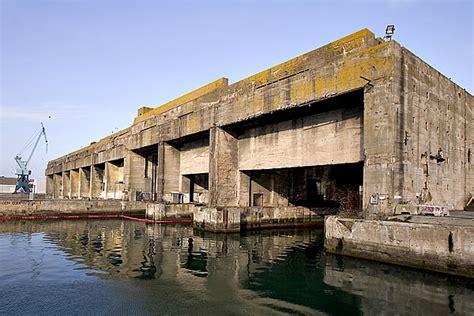 france la rochelle a cliff top walk to la pallice - U Boat Pens La Rochelle France