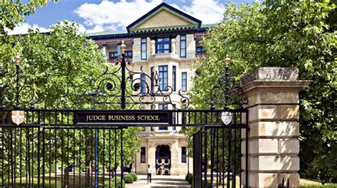 Cambridge Judge Mba by Cambridge Judge Business School Cambridge General