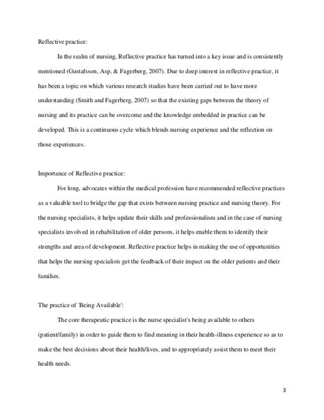 the about nursing reflections of a books nursing reflective essay conclusion reflection essay on