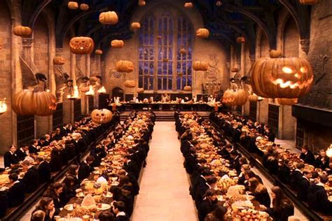 the great hall harry potter carly chubby cheeks halloween tradtions