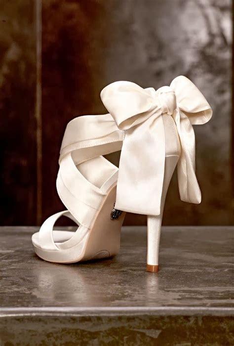 Bridal Shoes With Bow by Bridal Shoes With Bow Mega Wedding