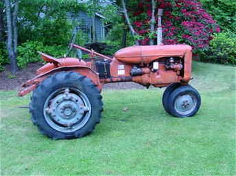 Used Farm Tractors For Sale 1951 Allis Chalmers Ca 2009