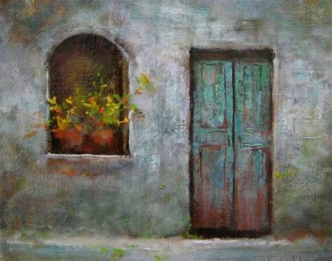 door original painting by artist justin clements