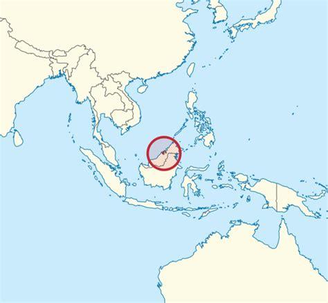 brunei map brunei