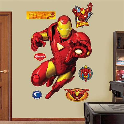 iron wall sticker iron fathead wall sticker wall decor store