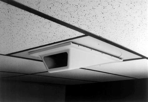 Low Profile Suspended Ceiling by Pelco Eh1000 Enclosure Indr Low Profile Wedge For Drop Ceiling
