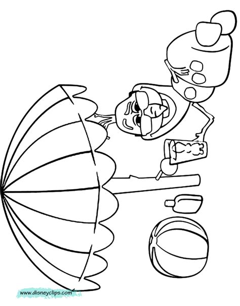 frozen coloring pages olaf in summer disney frozen printable coloring pages 2 disney coloring