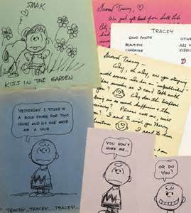 up letter affair exclusive war snoopy as family of creator charles