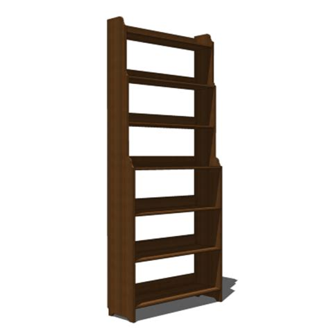 ikea leksvik bookcase 3d model formfonts 3d models
