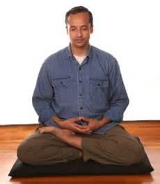Half Lotus Meditation Zazen Zen Mountain Monasteryzen Mountain