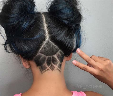 undercut hairstyles for long hair 51 long undercut hairstyles for women in 2018 diy