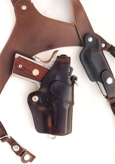 Handmade Leather Shoulder Holster - custom leather shoulder holster www imgkid the