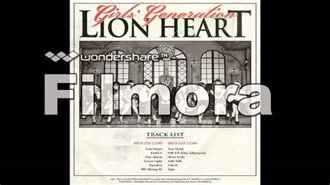 download mp3 full album lion heart girls generation 5th album quot lion heart quot chapter 1 full