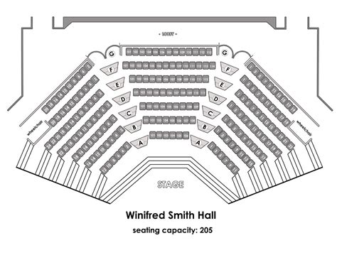 phillips center capacity floor uci sound winifred smith