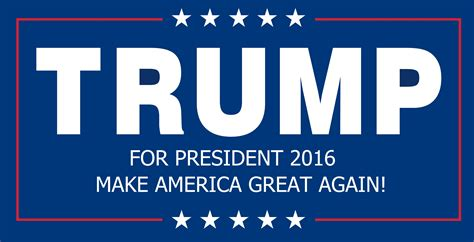 donald trump font 2017 donald trump for president 2016 make america great