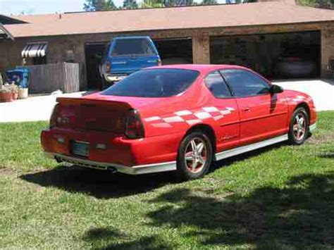 sell 2000 chevrolet monte carlo in detroit michigan peddle sell used 2000 chevy monte carlo ss limited edition pace car in edgewater florida united