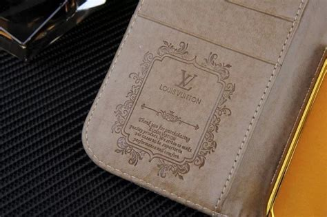 louis vuitton leather wallet case  samsung galaxy note