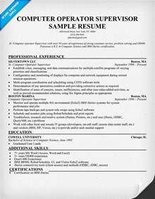 Resume Format Computer Operator Modal Title