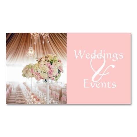 Free Wedding Business Cards Templates by Wedding Planner Catering Food Restaurant Business Card