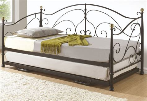 daybed with pull out bed birlea furniture milano daybed with underbed cream or