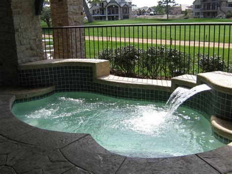Backyard Spool by Spools And Spas Pool And Spa Experts
