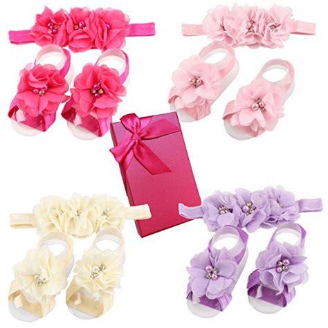 Prewalker Set Headband qgakago infant baby moccasins tassels premium soft sole anti slip summer prewalker toddler