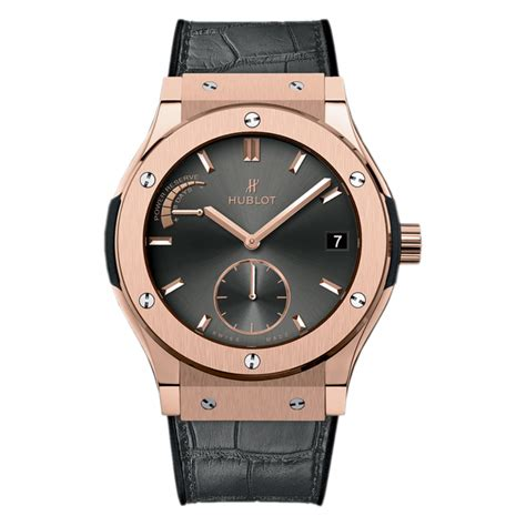 Hublot Vendome Fusion Rosegold Grey hublot classic fusion power reserve king gold racing grey 516 ox 7080 lr gold world