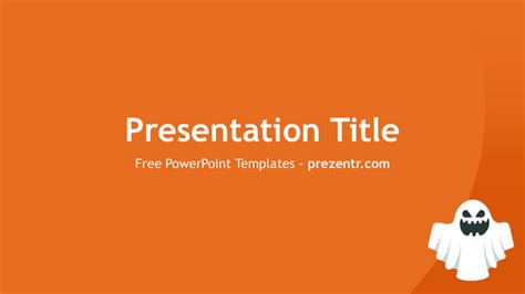 ghost themes for ppt free ghost powerpoint template prezentr powerpoint templates