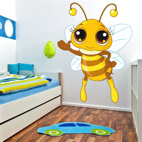 bee wall stickers wallstickers folies bee wall stickers