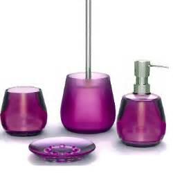 Purple And Grey Bathroom Accessories Beautiful Acrylic Modern Bath Accessories Grey And Purple Vita Futura