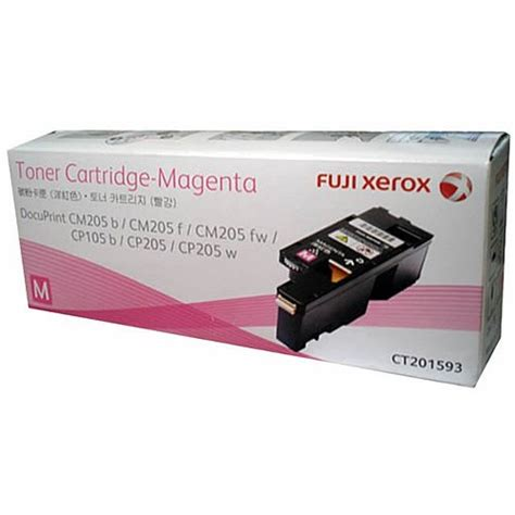 Toner Fuji Xerox Cm215fw fuji xerox ct201593 magenta genuine toner cartridge ink