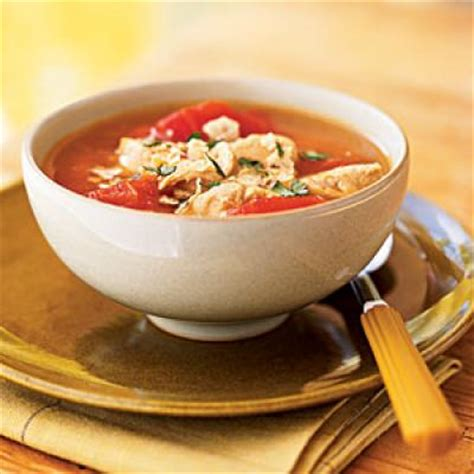 cooking light chicken tortilla soup 100 healthy soup recipes cooking light