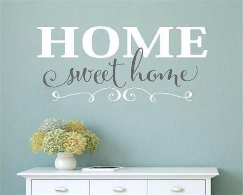 home sweet home interiors home sweet home vinyl wall decals home decor wall words stickers family ebay