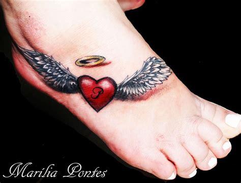 heart with wings tattoo on wrist best 25 wings ideas on memorial