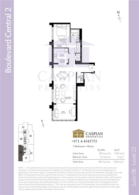 boulevard central tower 1 floor plan boulevard central tower 1 floor plan best free home