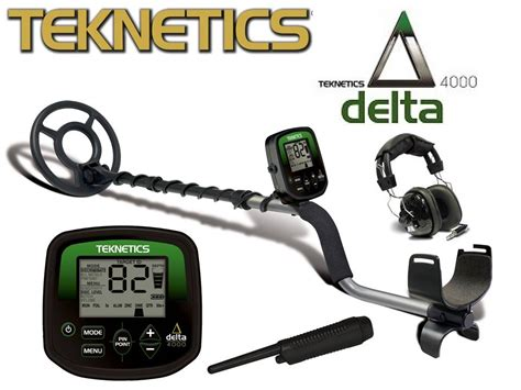 teknetics delta 4000 discount sales of high quality metal detectors and accessories