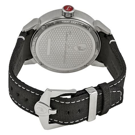 Lamborghini Tonino Silver Chain Black tonino lamborghini black s 5041 01 lamborghini watches jomashop