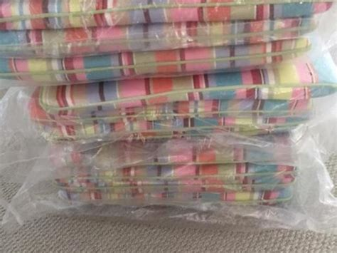 Patio Cushions B Q 12 X New B Q Seat Cushions For Outdoor Or Indoor Furniture