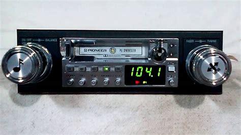 cassette car stereo vintage pioneer ke 6100 am fm cassette car stereo 2