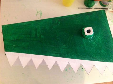 How To Make A Crocodile Mask Out Of Paper - cardboard crocodile costume a crocodile mask