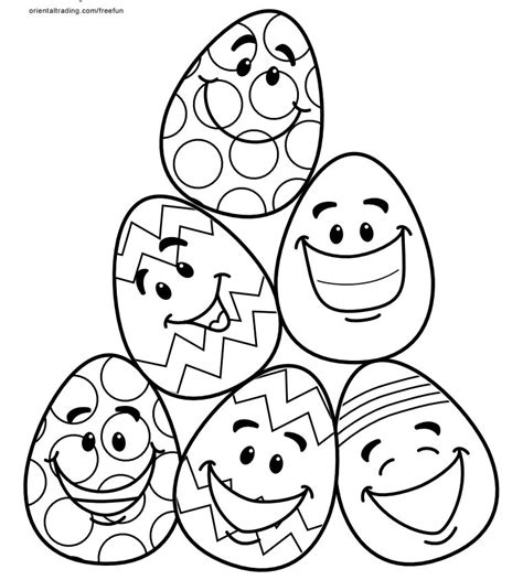 coloring pages of small easter eggs free printable easter coloring pages for the