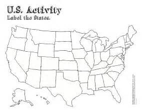 blank us map to color blank states map test