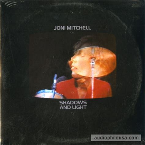 Mitchell And Bright Water mitchell joni shadows and light vinyl lp album at