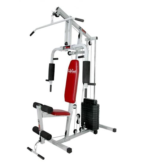 lifeline multi home with 150 pound weight stack buy