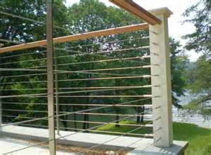 Deck patio porch balcony cable railing modern deck by ultra