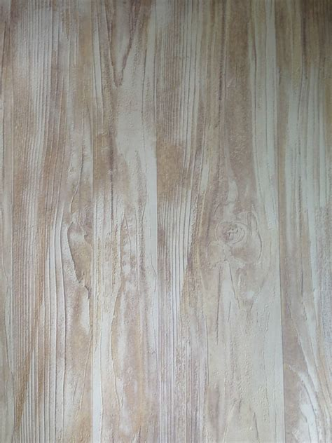 realistic lime washed effect wood panel wallpaper