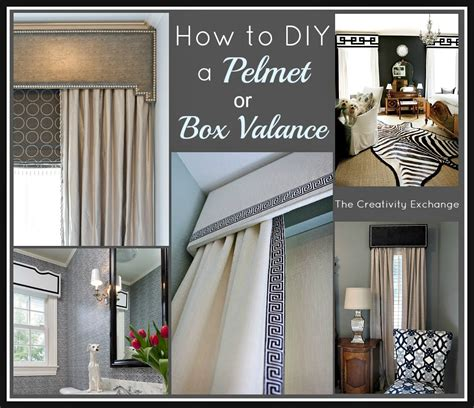 How To Make A Pelmet Valance how to diy a pelmet or box valance