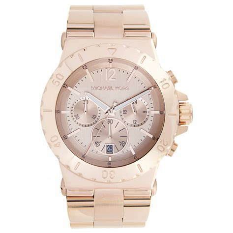 michael kors chronograph rose gold  mk cheapest