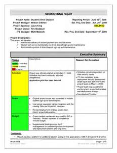 Monthly Project Report Template Project Status Report Template Affordablecarecat